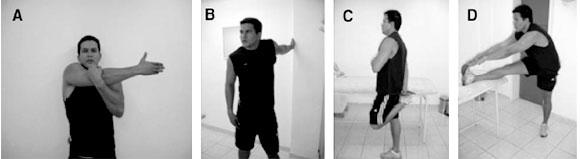 Statiska stretchövningarna
