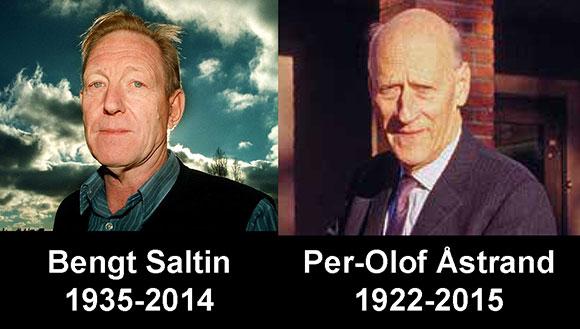 Bengt Saltin och Per-Olof Åstrand