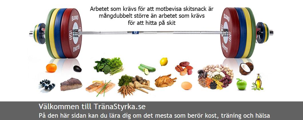 Välkommen till TränaStyrka.se