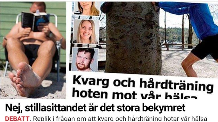 Replik på en debattartikel i Aftonbladet