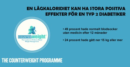 Diabetes typ 2 i remission