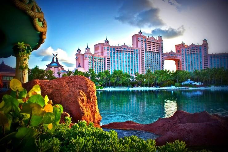 Гостиничный комплекс Atlantis считается самым роскошным на Багамах