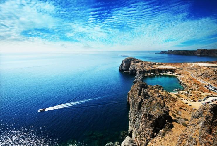 Родос часто называют «жемчужиной Средиземноморья»