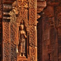 「バンテアイ スレイ(Banteay Srei)」~東洋のモナリザと呼ばれているアンコール美術の至宝が。。。②