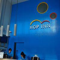 「ポップ イン チュンポン(Hop Inn Chumphon)」~街の少し外れにあるカラフルな格安チェーン系ホテル