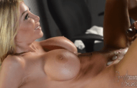 Kimber James Works Out With The Gym Teacher
