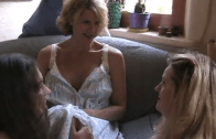 Tranny Mommy Fucks Two Stepdaughter