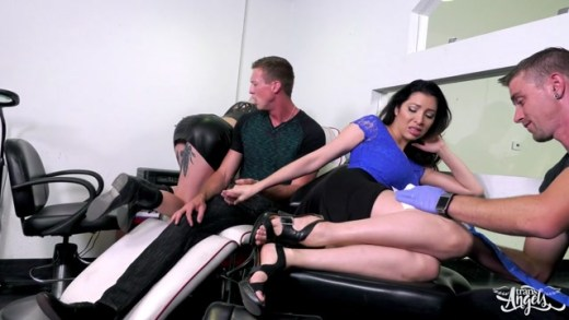 TransAngels – Lena Kelly in Pursued Screwed and Tattooe