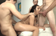 Shemale TS Gangbang Auditions Chanel Santini