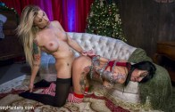 TSPussyHunters – All Lily Lane wants for Christmas is a Nice Hard Cock