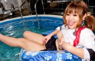 Japonese Shemale – Rifana The Naughty Sailor Girl!