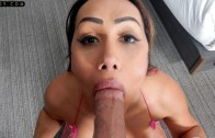 TSPOV – Azhlee DLuna in Latina TS Escort Knows What You Want