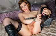 Canada-tgirl – Hailey, So Hot In Boots!