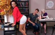 TransAngels – Jessy Dubai – Stroke Her in the Stacks