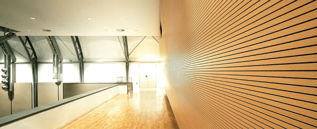 Types of wooden panels that are effective in sound absorption