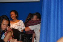 Qué buenos abrazos nos disteis