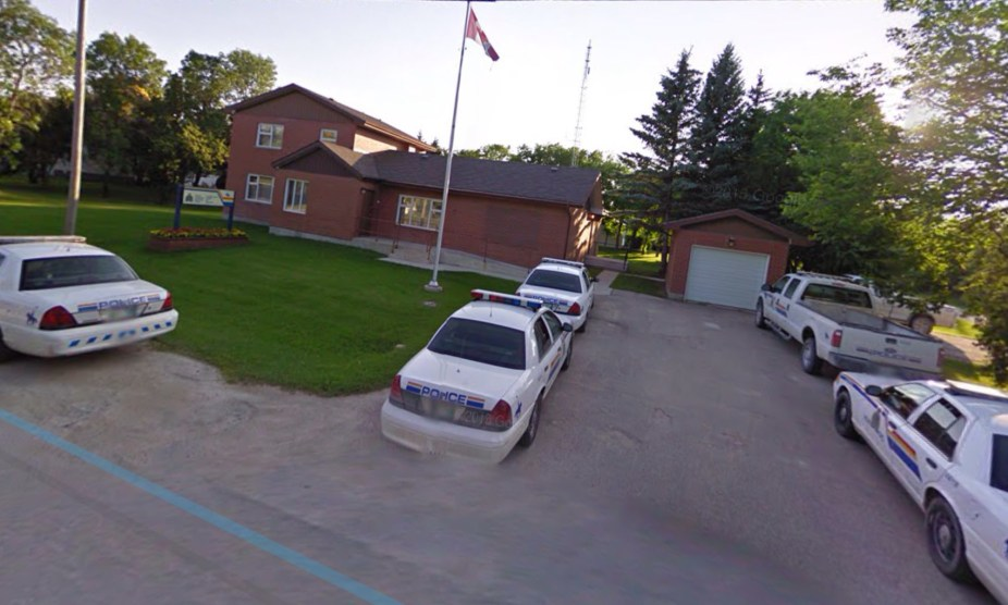 RCMP Ashern today -5 cars