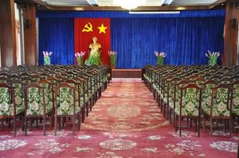 The communist decor