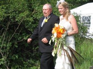 Cascade Style Bride Bouquet