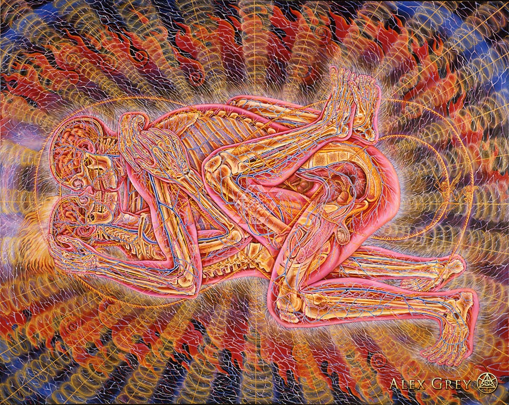 12 MindBlowing Psychedelic Paintings By Visionary Artist Alex Grey