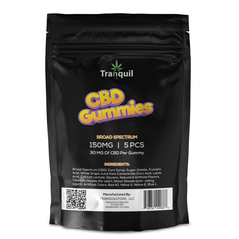 Tranquil Store Infused CBD Gummies