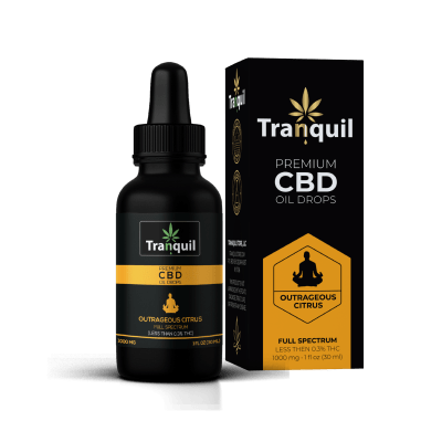 Outrageous Citrus CBD Premium Oil Drop