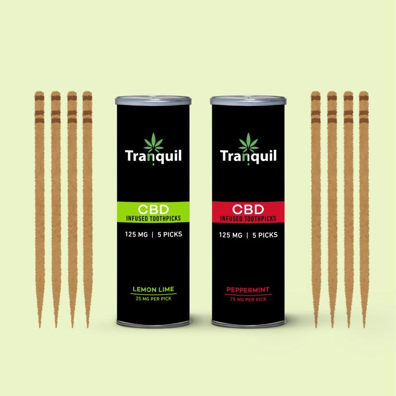 What are CBD Toothpicks