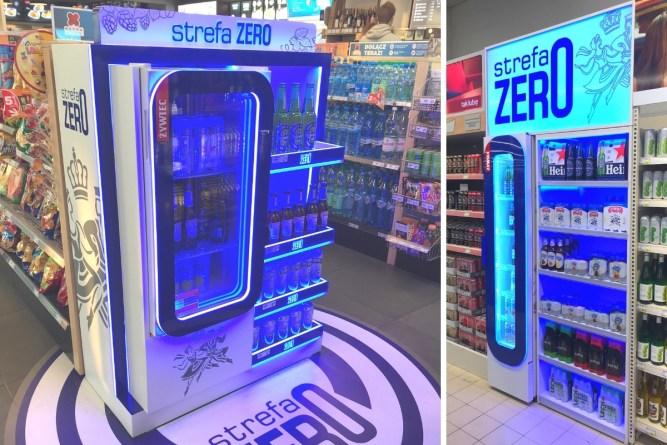 transform regał do alkoholi dla sklepów