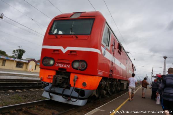 シベリア鉄道ЭП2К(EP2K)画像