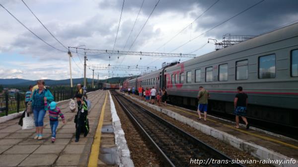 シベリア鉄道発着・停車駅画像