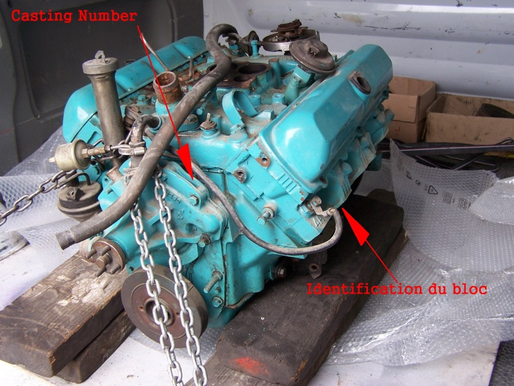 medium resolution of 1979 trans am 403 desmogging procedure identification du moteur