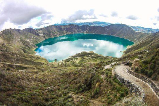 Vélo de route en Equateur