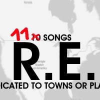 diablog's ultimate List: 11 SONGS BY R.E.M. dedicated to Towns or Places [w. audio]