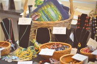 Supporting the local businesses by creating sales markets: Products from Haiti.