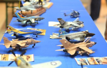Most of the models have a military background.
