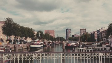 Rotterdam's old harbour.