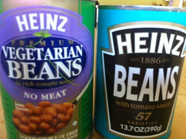 V is for Vegetarian Beans The Transatlantic Translator