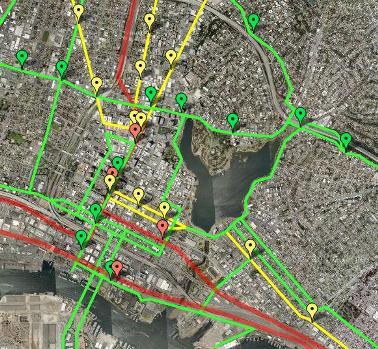 Downtown Oakland BRT Future