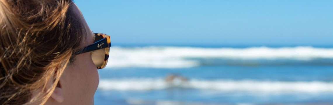 Sunglasses, Maui Jims, Ocean