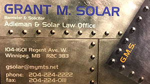 Adelman and Solar Law Office