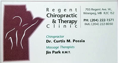 Regent Chiropractor and Therapy Clinic(400)