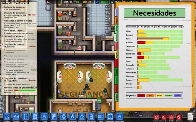 Prisoner needs