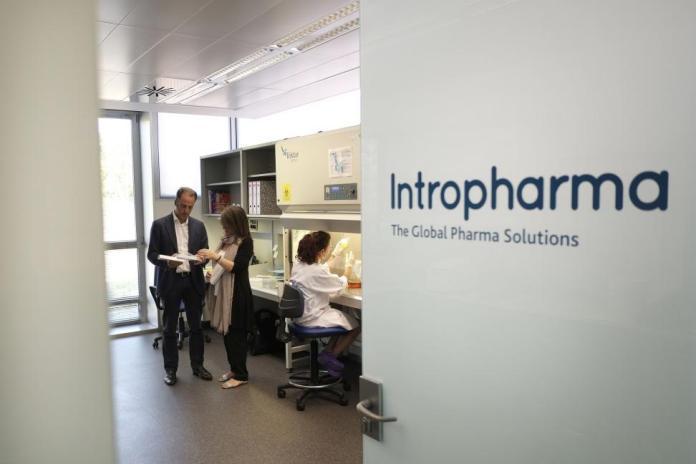 Laboratorios Intropharma en el Parque Científico. Foto:Enrique Carrascal