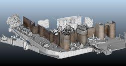 Modelo en 3D de la Muralla de Ávila realizada por el grupo de investigación