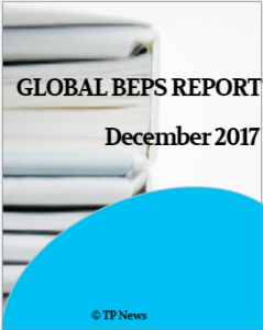 The Global BEPS Report 2017 provides a complete picture of implementation of the BEPS proposals by over 50 countries as on December 31, 2017.
