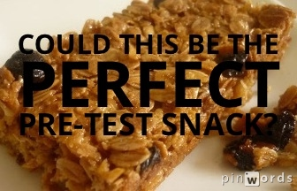 AQE test snack