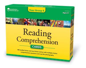 reading comprehension cards transfer test tips