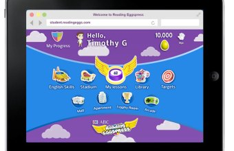 AQE English comprehension Reading Eggs Reading Eggspress dashboard