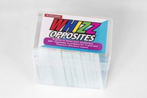 Whizz opposites card game transfer test tips