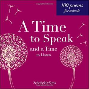 A time to speak schofield poetry antholoogy